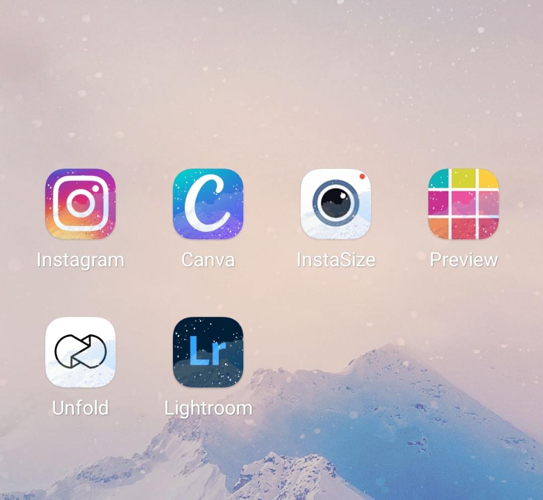Mes applications préférées pour éditer et programmer mes photos sur Instagram