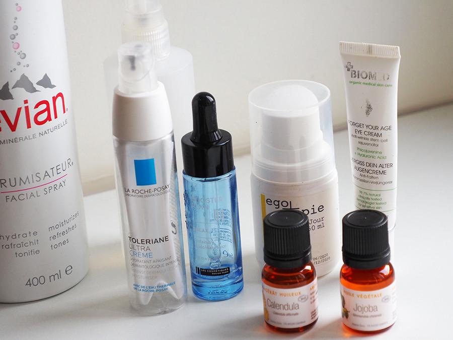 routine peau reactive