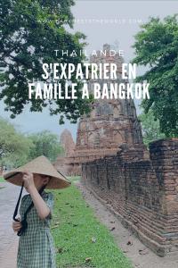 vivre en famille à bangkok