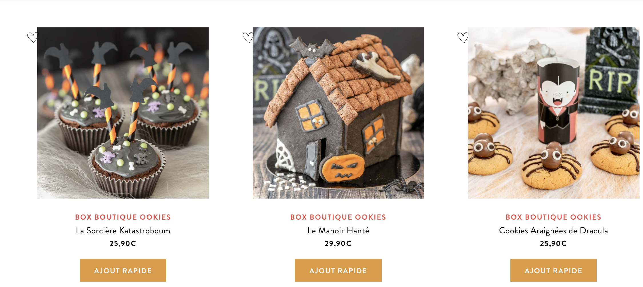 box ookies halloween