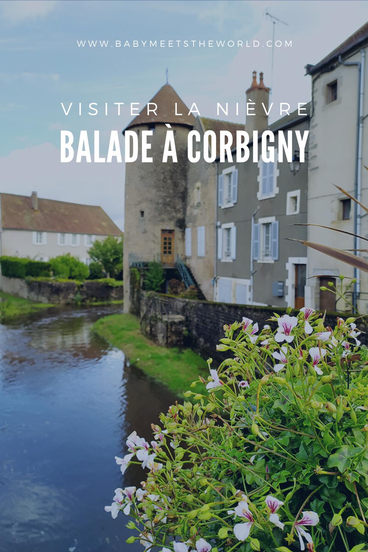 Balade dans la Nièvre : La petite ville de Corbigny