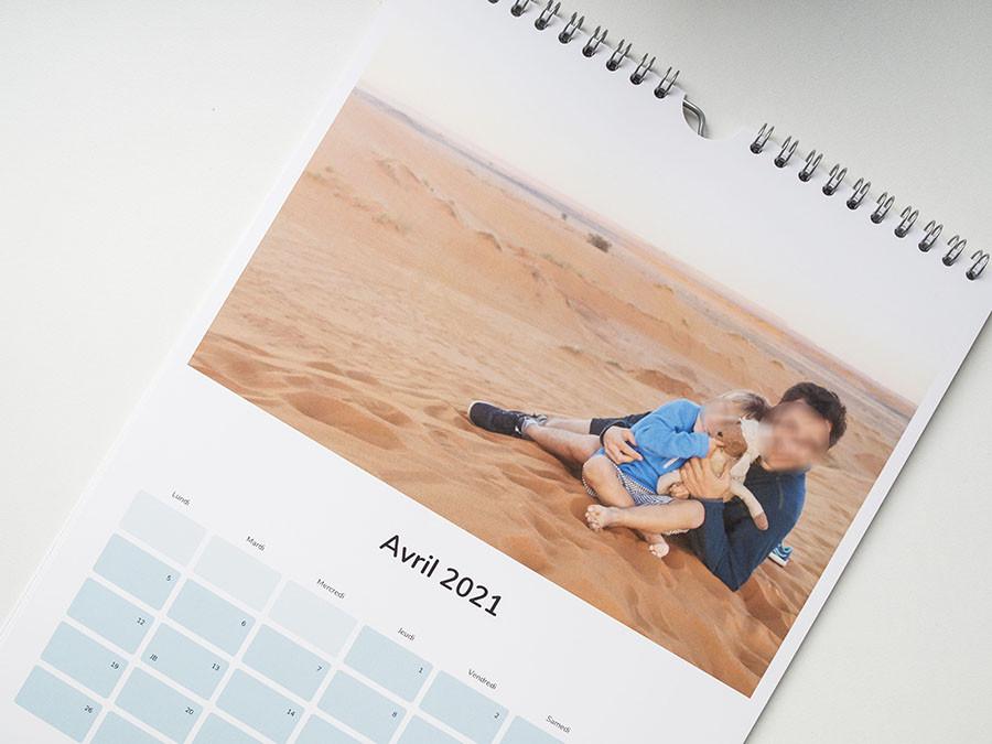 comment personnaliser un calendrier cheerz