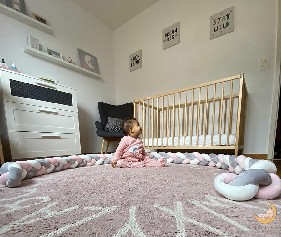 Pourquoi choisir un tour de lit tressé pour le lit de bébé