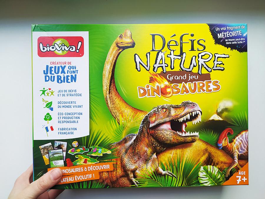 defis nature grande jeu dinosaure