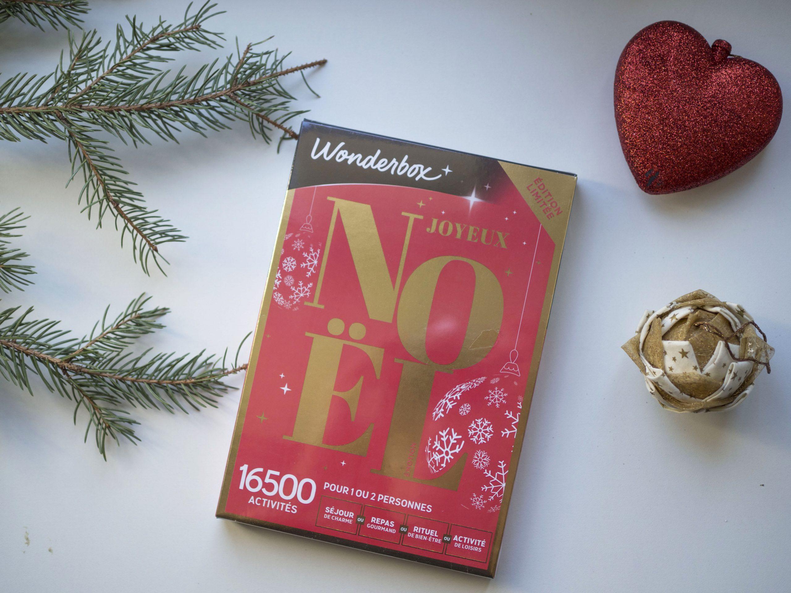 wonderbox joyeux noel edition limitée