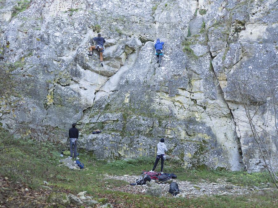 escalade roche de basseville