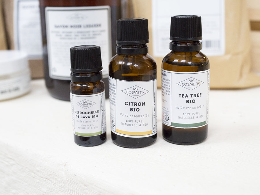 huile essentielles produits ménagers