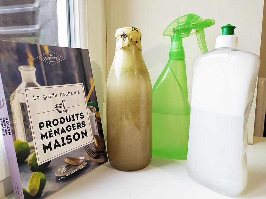 recettes de base produits ménagers