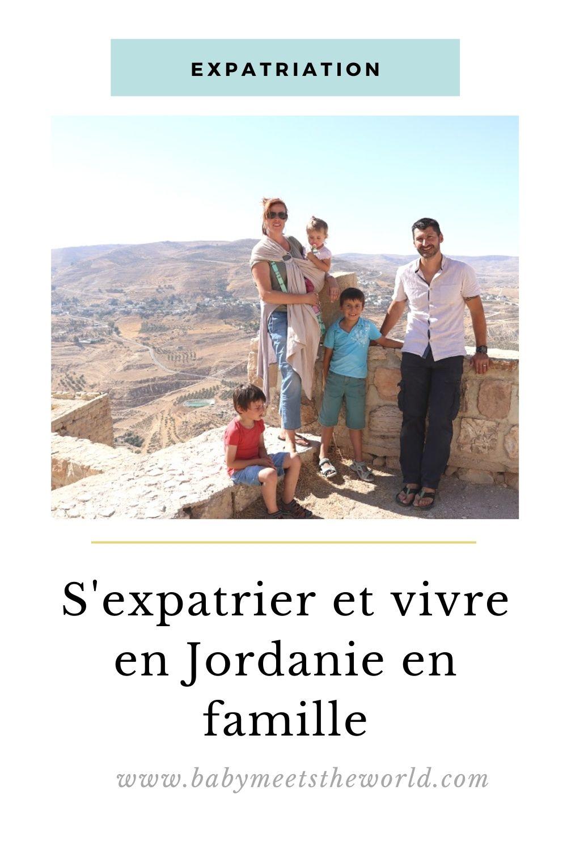 vivre en Jordanie