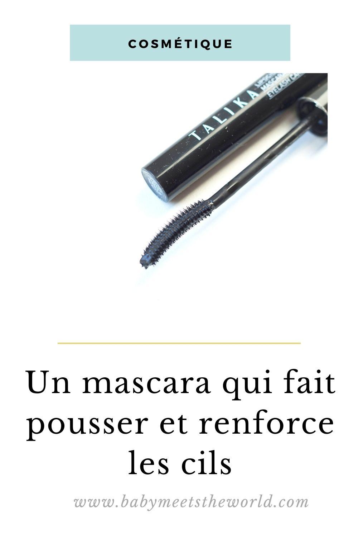 mascara soin des cils