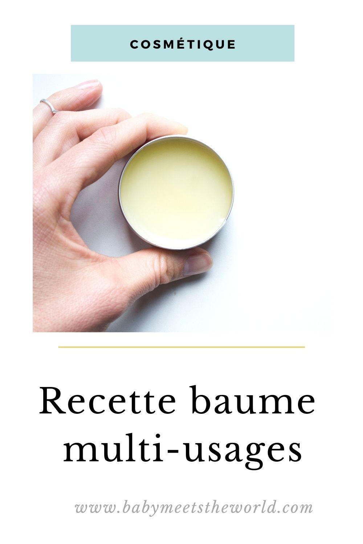 recette baume muti-usages